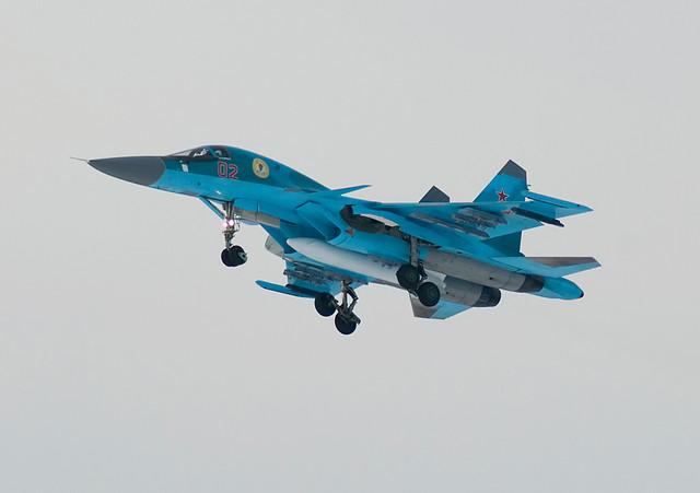 Sukhoi Su-34(№02)