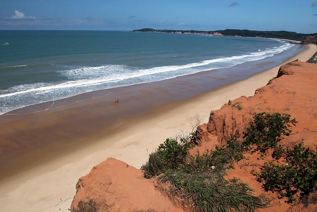 Praia de Concimbinha vista dallo Strapiombo.