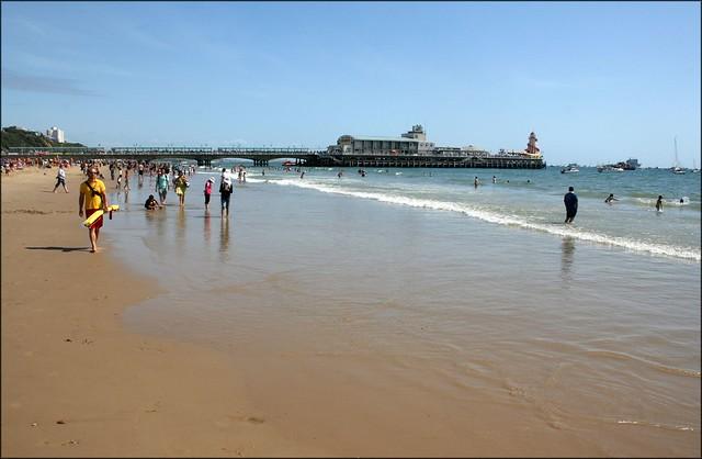 Bournemouth beach