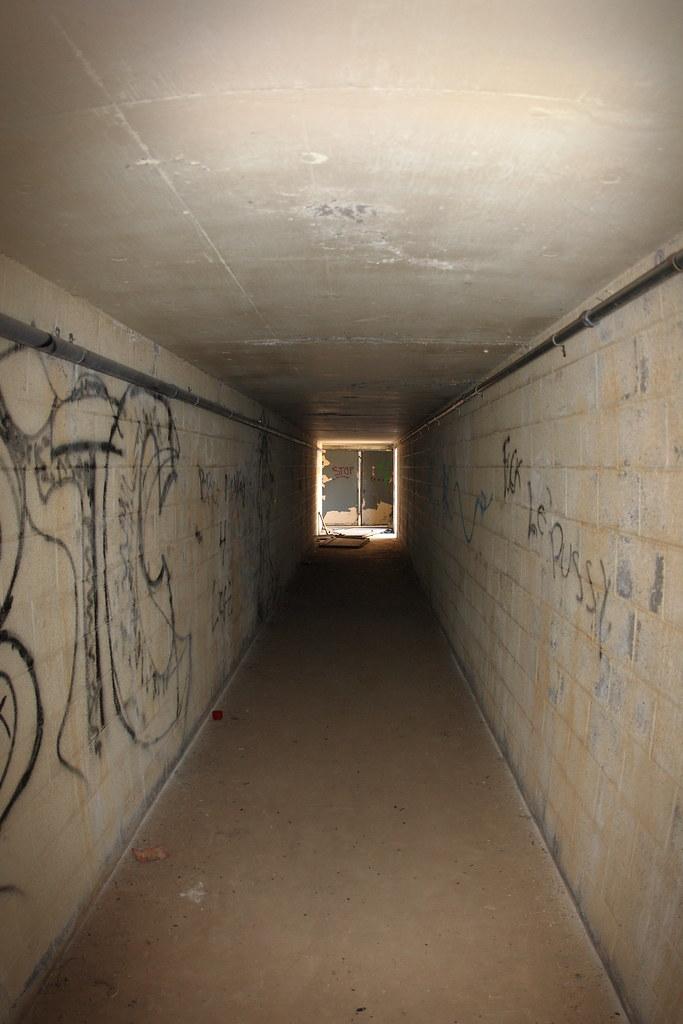 Long hallway.
