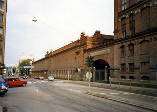 Tampere - Finlayson & Co factory, Finland  May 1987