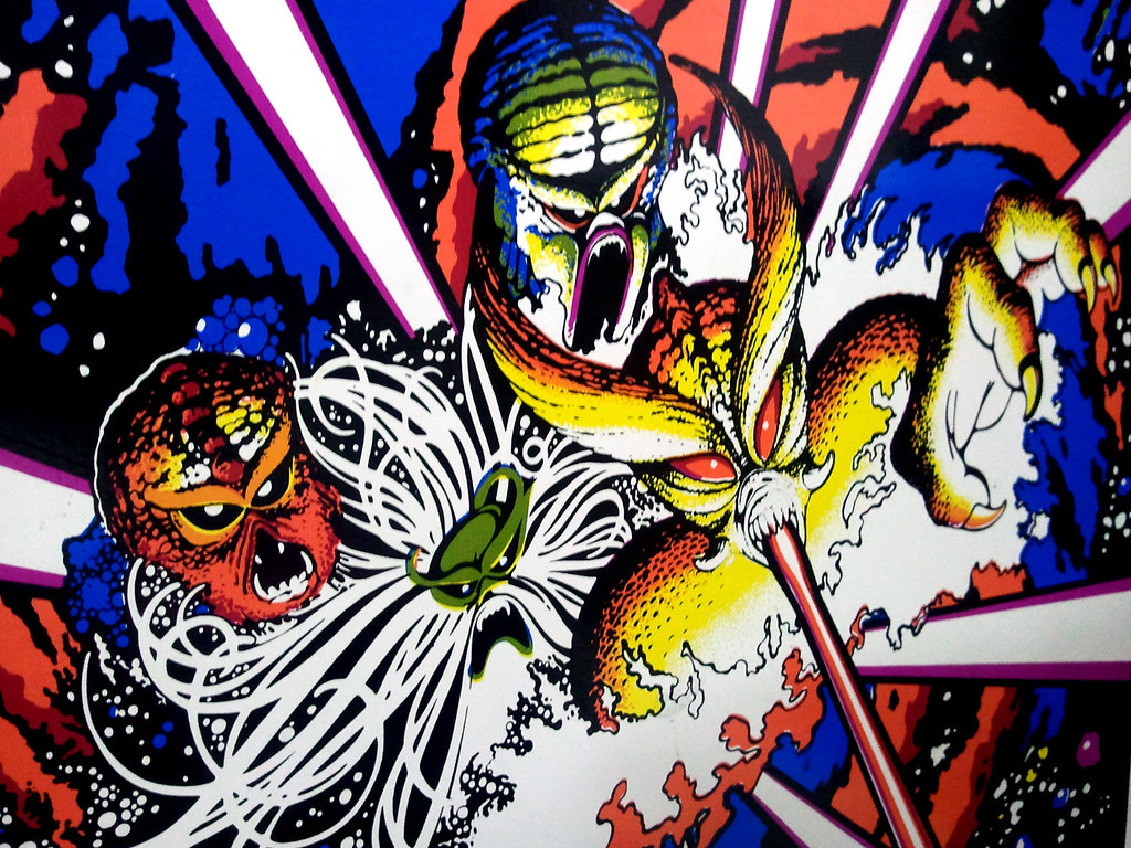 Tempest Arcade Cabinet Artwork | Artwork on the side of my T… | Flickr