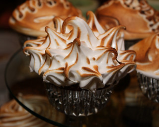 Torched Meringue Cupcake | by the other tiger