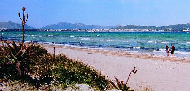 Mallorca - Strand bei Albufera