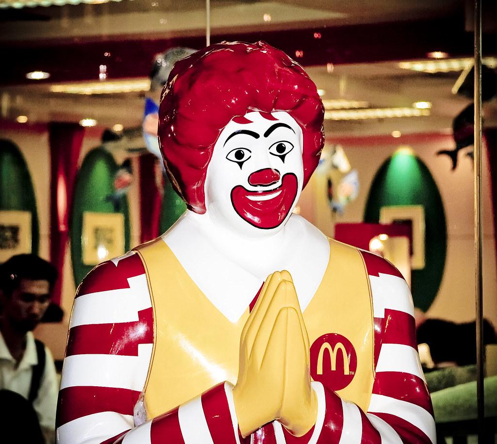 Sawadee-ka Ronald McDonald