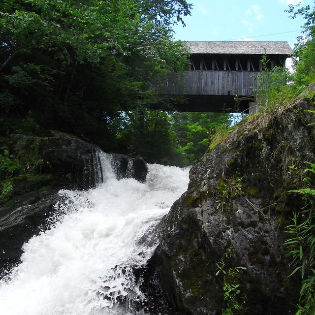Swiftwater Falls - Bath, New Hampshire