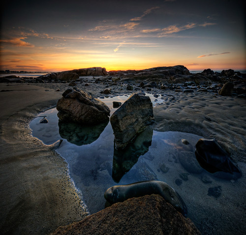 ocean panorama beach pool rock sunrise dawn sand nikon rocks maine sigma moe 1020mm fortunes tidal hdr biddeford d300 5xp vertorama moe76