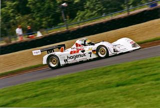 Stefan Johansson Joest Porsche WSC95 Donnington 5th July 1997 | by tonylanciabeta