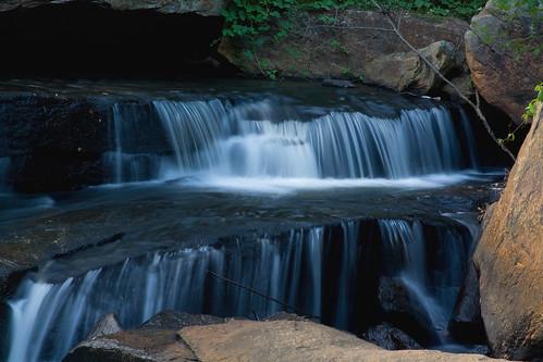longexposure sc water rock river waterfall southcarolina cascade greenville fallspark reedyriver davidhopkinsphotography