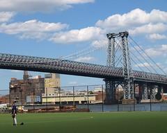 Williamsburg Bridge over East River, Manhattan-Brooklyn, New York City