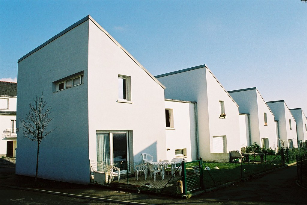 Maisons de ville - Kertatupage - rue charles Baudelaire (Brest)