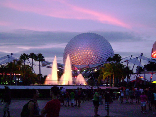 Epcot at Dusk | by Steve Clancy