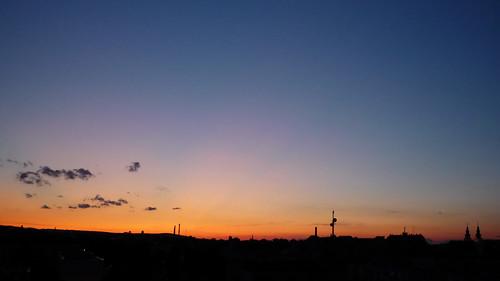 sunset sky hu ég sopron napnyugta sulphurdioxide kéndioxid volcanicaerosol