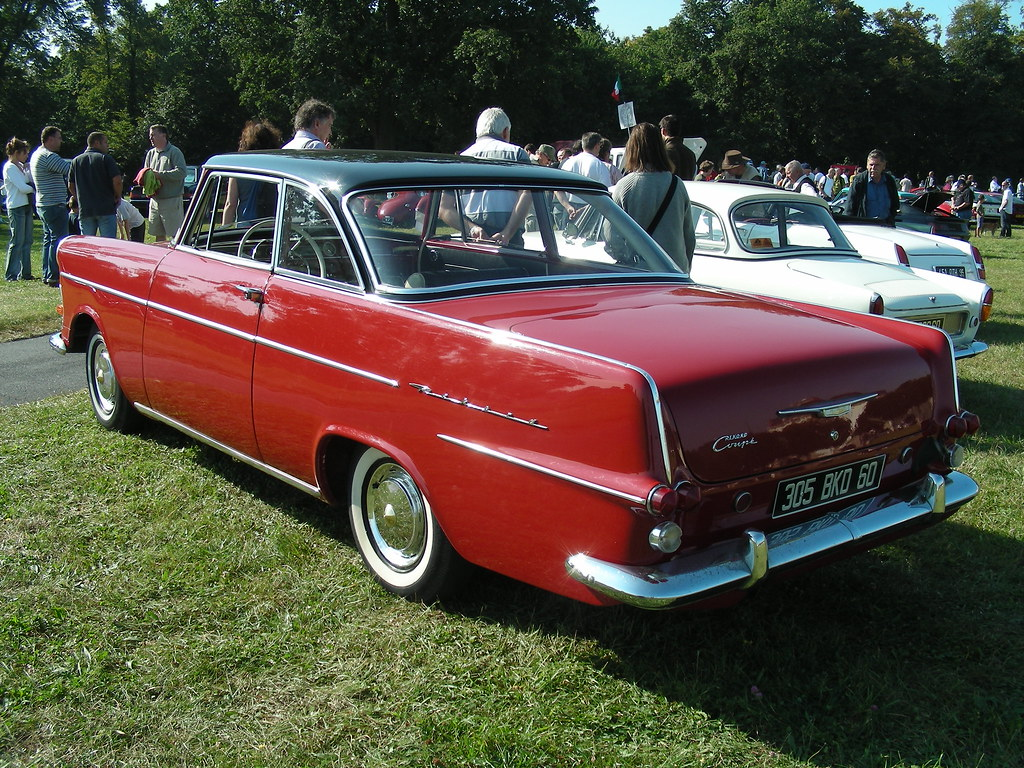 Opel Rekord P2 Coupe Photo Prise A Chantilly F 60 Xavnco2 Flickr
