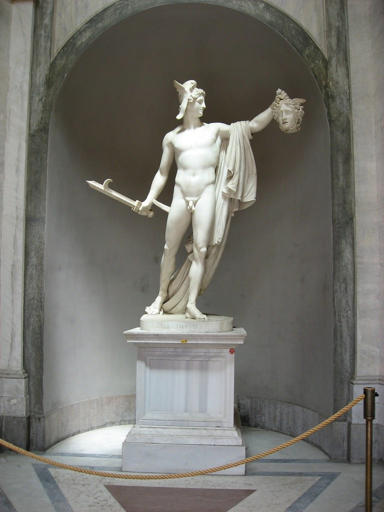 Statue Inside the Vatican