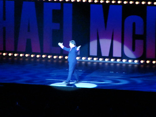 Michael McIntyre goes on stage   by Ben Sutherland