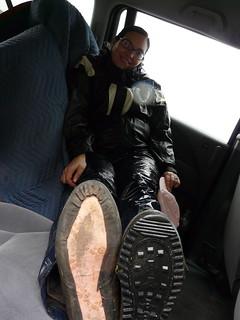 Lorelei's Missing Shoe Sole