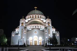 Cathedral of Saint Sava, Belgrade by night | by George M. Groutas