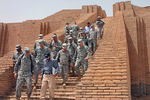 Soldiers tour Ziggurat of Ur | by The U.S. Army