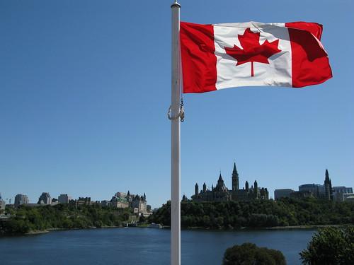 Canadian parliament flag | by Karim Rezk