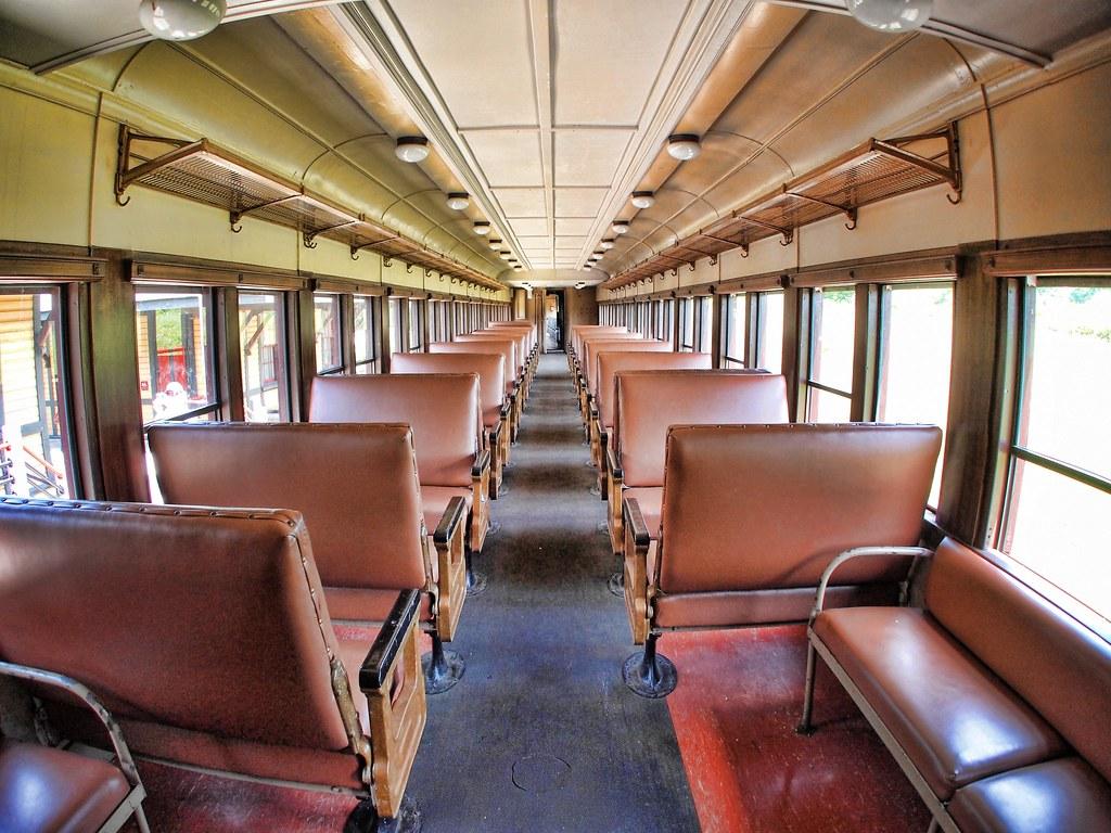 Train Passenger Car 50s Interior   The Orient Express it ...
