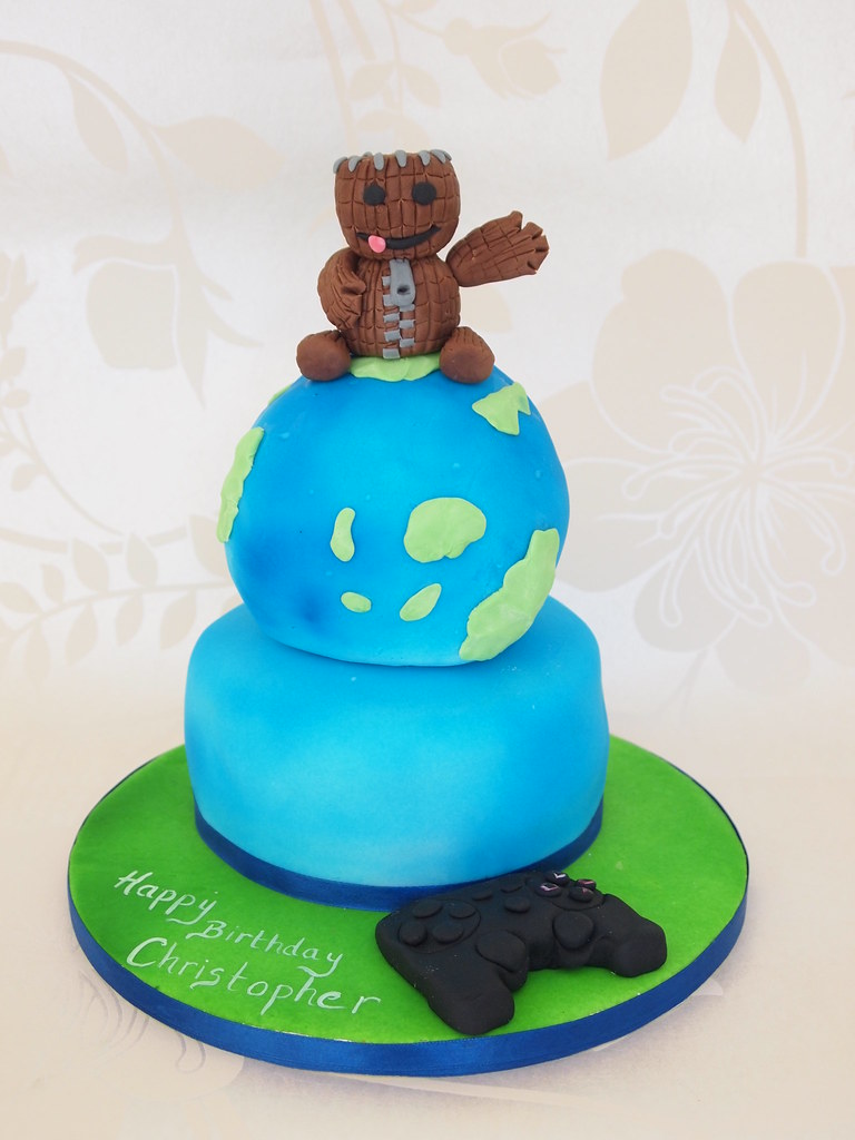 Tremendous Little Big Planet Cake Pauline Clifford Flickr Birthday Cards Printable Riciscafe Filternl