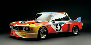 Alexander Calder 1975 Art Car BMW 3.0 CLS