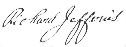 Richard Jefferies signature
