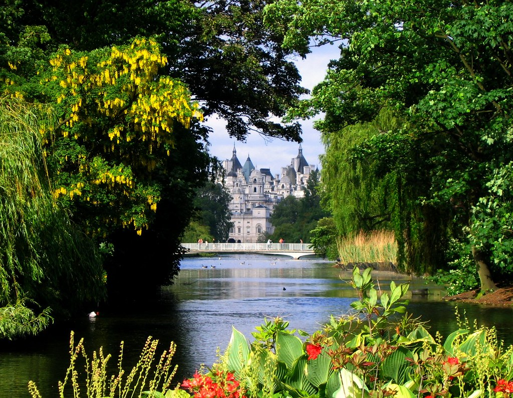 St. James Park, London, on a May Afternoon