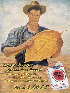 Lucky Strike Vintage Advertising | by Fugue
