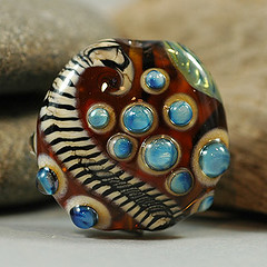 lampwork glass bead | by Pam Brisse