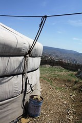 Outside a Mongolian ger tent | by East Asia & Pacific on the rise - Blog