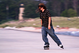 Skater on the Whitehall pier | by wsilver