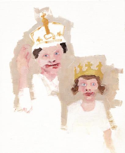 Elizabeth n Queen Mum