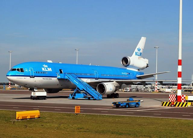 KLM MD11 (PH-KCD) Schiphol Ramp