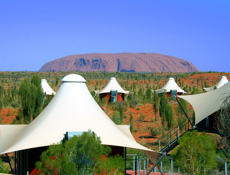 More and more glamping spaces are situated with view of iconic land formations, stunning scenery or deeply historical constructions. Situated context will become a major glamping trend in the years ahead.