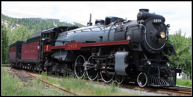 CPR Empress Steam Locomotive 2816