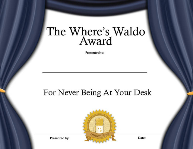 picture regarding Where's Waldo Printable known as Printable Certificates: Wheres Waldo Amusing Award Get Prin