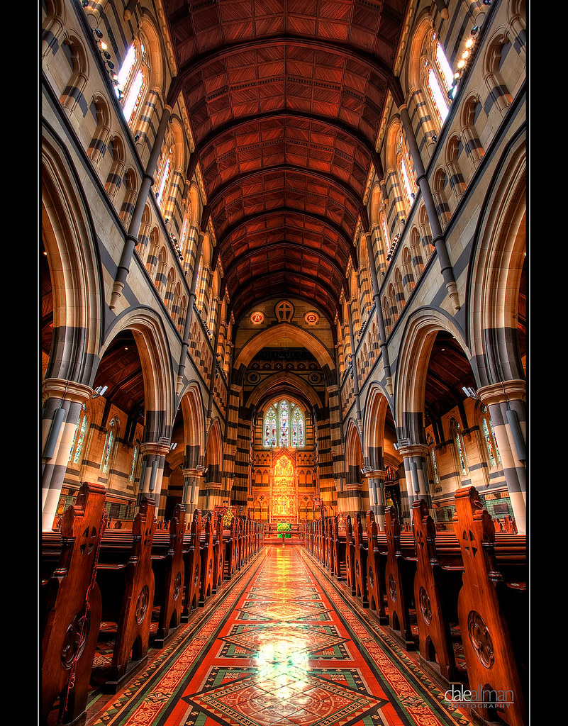 St Paul's Cathedral, Interior II - HDR by Dale Allman