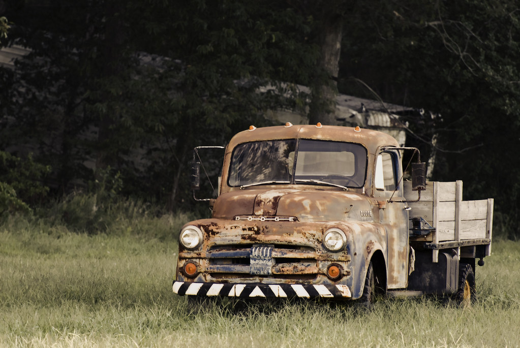 Old Dodge Truck A Rusty Old Dodge Work Truck Jeff Weese Flickr