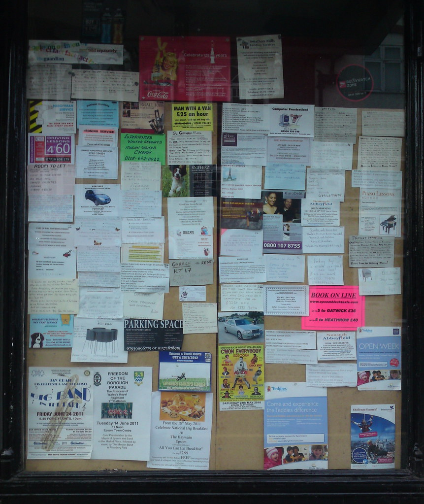 Noticeboard - Epsom