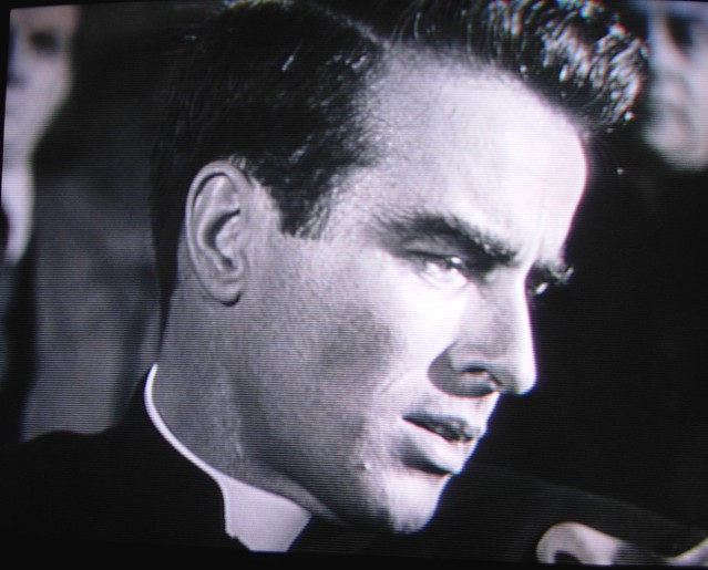 Montgomery Clift as Father Logan
