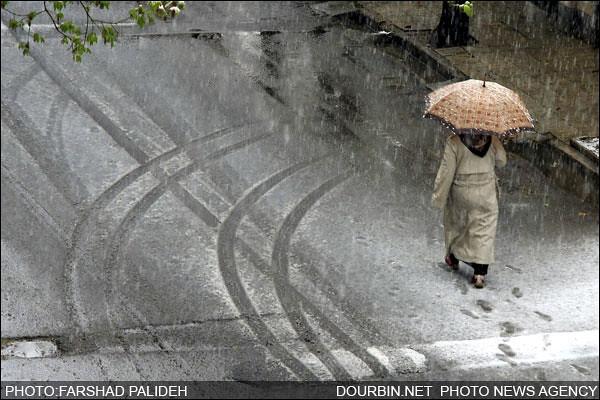 Snowy Spring in Tehran