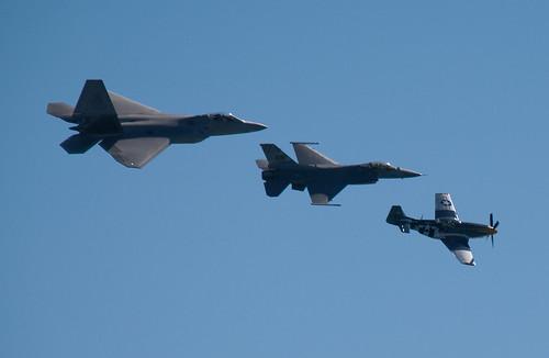 USAF Heritage Flight 5 | by cetaylor