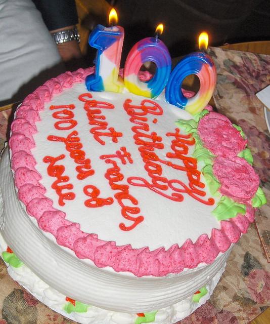 Birthday Cake Candles 100