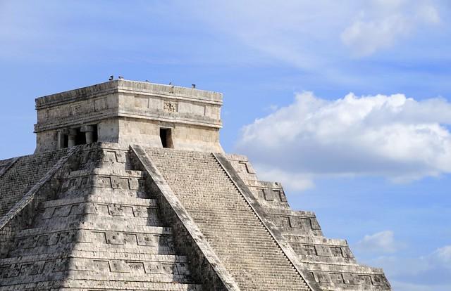 Chichen Itza Pyramid in Riviera Maya, Mexico