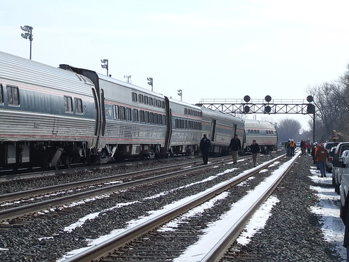 Amtrak Lake Shore Limited - Whiting, IN 2/24/09 | by Ryan Kertis