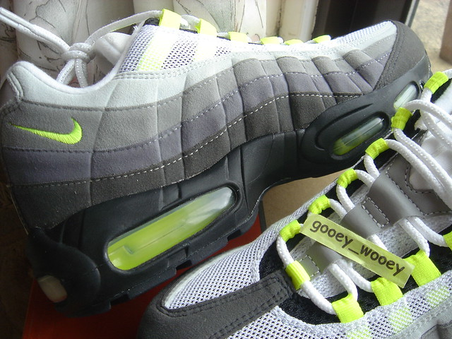 new style 79a6e 57de5 by gooey wooey Nike Air Max 95 Classic  HOA  Neon Retro.   by gooey wooey