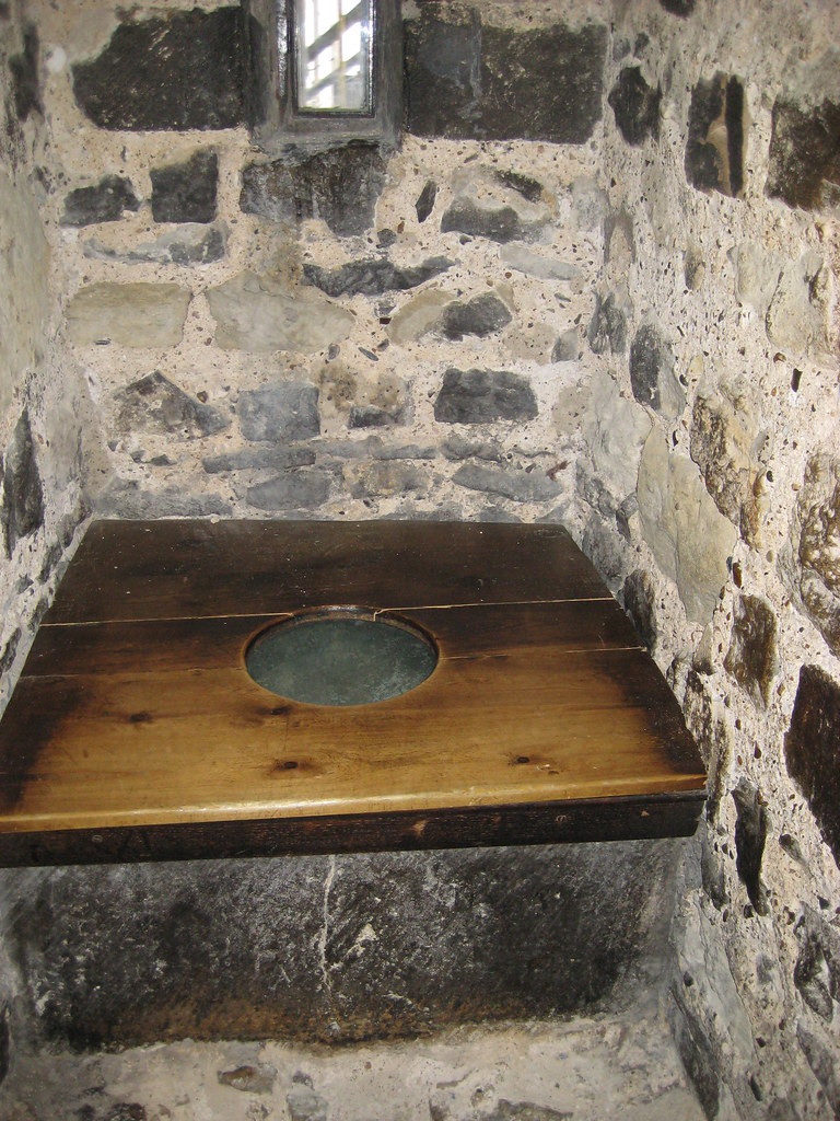 Oldest Toilet in England | Not too shabby, considering  The