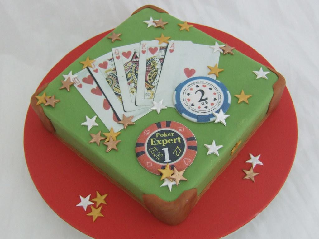 Magnificent Poker Birthday Cake Cake Designer 57 Moselle France T Flickr Funny Birthday Cards Online Unhofree Goldxyz